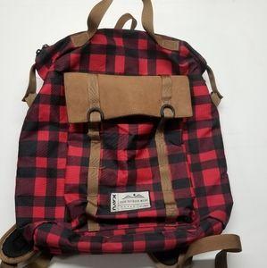 Kavu Women's plaid backpack bag